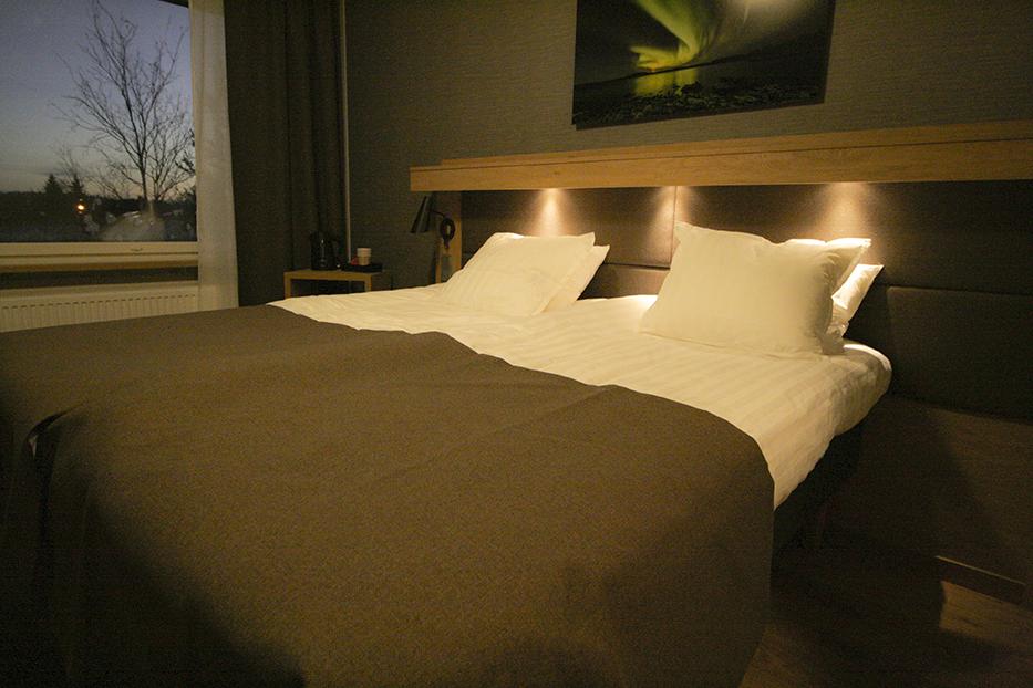hotelli, toivola, huone, sänky