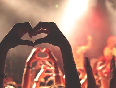 tapahtumat, väkijoukko, sydän