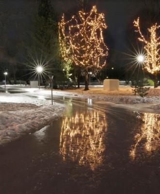 liikennepuisto talvi 330x400 - Talvinen perhepuisto